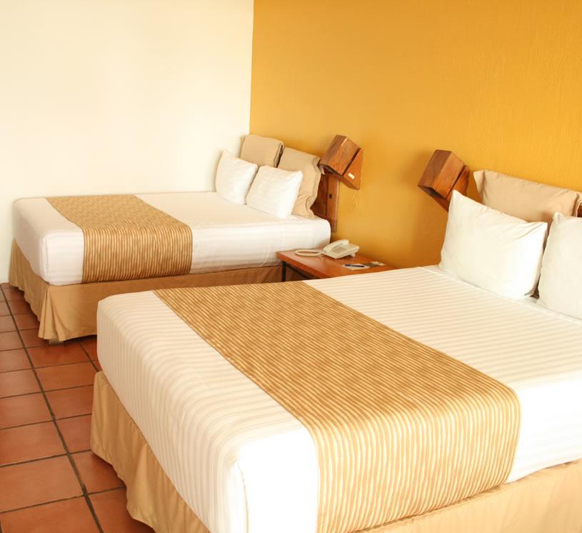 Hotel Real de Chapala, Habitación vista al lago segundo piso
