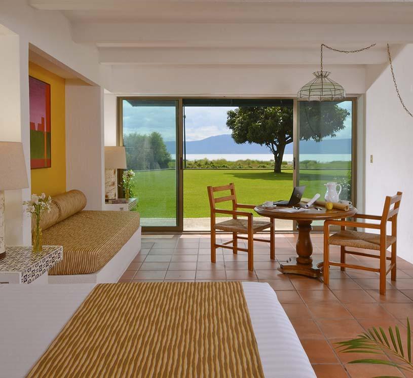 Hotel Real de Chapala, Habitación Vista al lago