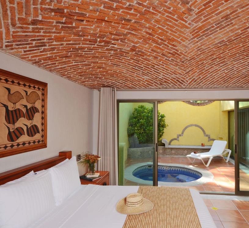 Hotel Real de Chapala, Suite Alberca