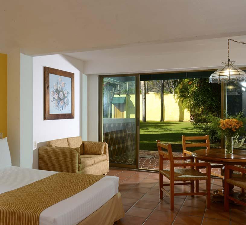 Hotel Real de Chapala, Vista al jardín planta baja